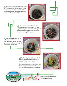 Edible Soil Snack Activity