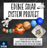 Edible Solar System Project