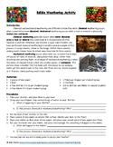 Edible Weathering Activity