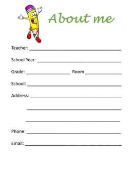 Edible teacher powerpoint Binder, planner cover, planner inserts