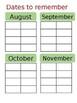 Edible teacher powerpoint Binder, teacher planner , August to July