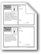 Edison (Grade 4 Daily Word Problems-Week 8)