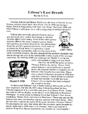 Edison's Last Breath 1 pg  Sci Literacy with Questions