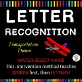 Letter Recognition, Letter Identification Transportation (Down Syndrome, sped)