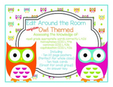 Edit Around the Room: Facts About Owls! Nonfiction! Editing CCSS Aligned!