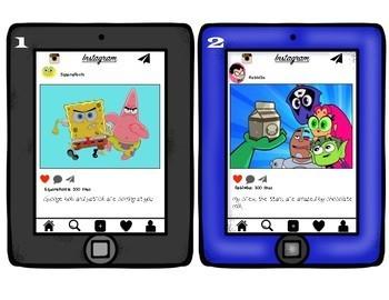 Editing Instagram (Cartoon Edition)