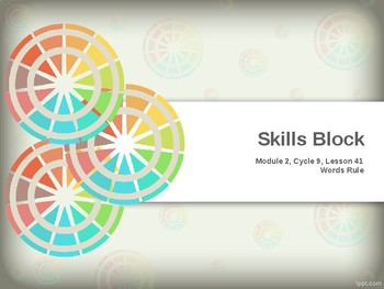 Edit Product: EL Education- 2nd Grade Skills Block - Module 2, Cycle 9