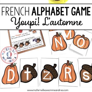 Jeu Youpi! C'est l'automne - FRENCH Autumn themed game/centre