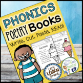 Phonics Poetry Book Pages all Original Phonics Poems