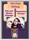 Edit/Revise Passage & Expository Prompt: Katy Perry STAAR PREP