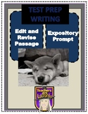 STAAR Prep: Edit/Revise Passage with Expository Writing Prompt