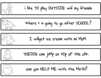 Edit These Sentences!