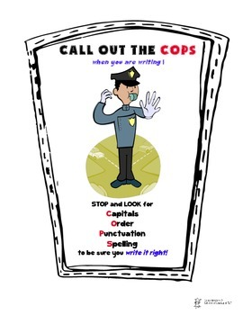 Edit Your Writing:  Call Out the COPS!