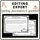 Edit and proofread text