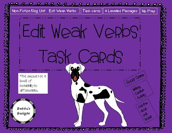 Edit for Strong Verbs