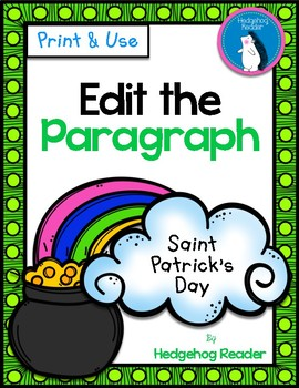 Edit the St. Patrick's Day Paragraph - No Prep