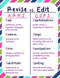 Edit vs. Revise (ARMS/CUPS) Poster