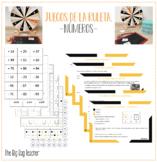 Editable: 15 propuestas para aprender MATES con la ruleta-