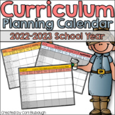 Curriculum Planning Calendar 2018-2019 School Year