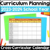 Curriculum Planning Calendar 2019-2020 School Year