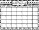 Editable 2017-18 Black & White Calendar