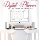 Editable 2021 Powerpoint Digital Planner
