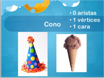 Editable 2D and 3D Shapes PowerPoint in Spanish