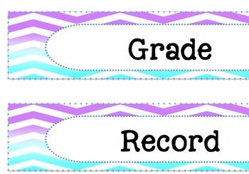 Editable 3 Drawer Organizer Labels