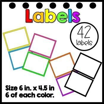 Editable 3 Drawer Sterilite  Labels- Large