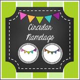 Circular Labels- Editable