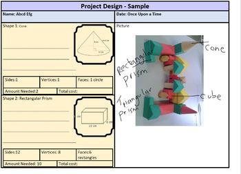 Editable 3D Shapes assessment