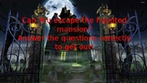 Editable 6 Question Haunted Mansion Smartboard Game