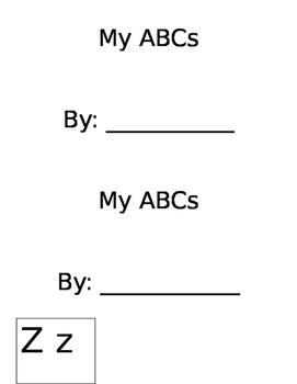 Editable ABC Book
