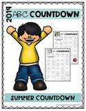 Editable ABC End of the Year Countdown