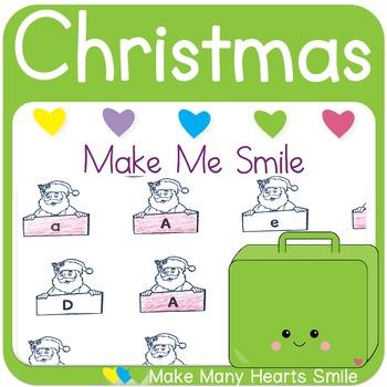 Editable Make Me Smile Kit: Christmas