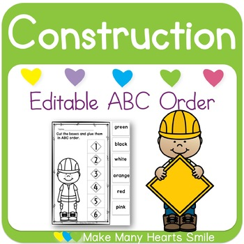 Editable ABC Order: Construction