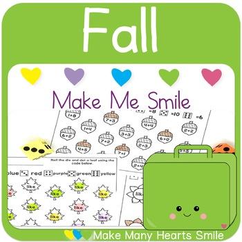 Editable Make Me Smile Kit: Fall