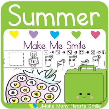 Editable Make Me Smile Kit: Summer