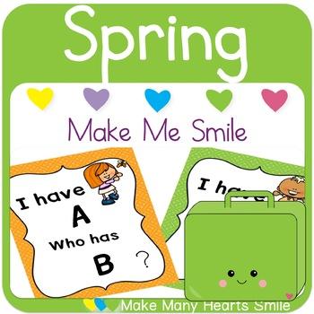 Editable Make Me Smile Kit: Spring