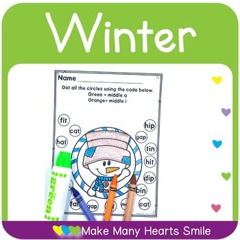 Editable ABC Order: Winter