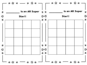 Editable AR Sticker Chart