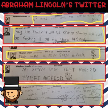 Abraham Lincoln Activity