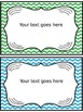 Editable Accelerated Reader Mini Clip-Chart and Goal Pack - {Chevron}