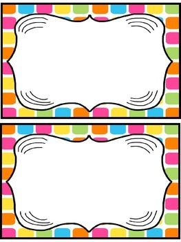 Editable Accelerated Reader Mini Clip-Chart and Goal Pack - {Funky Dots}