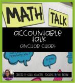 Editable Accountable Talk Anchor Chart