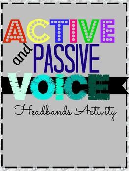 Editable Active & Passive Voice Headbands Game!