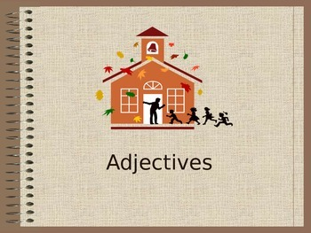 Editable Adjective PowerPoint