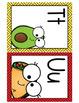Editable Alphabet Posters - taco / fiesta theme
