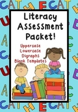 Literacy Assessments: Alphabet and Digraph {ch th qu ph sh ng oy wh ee ck oo}