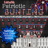 America Themed Bunting